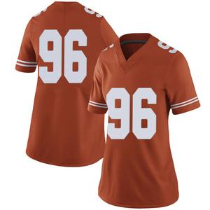 Tristan Bennett Nike Texas Longhorns Women's Limited Women Football College Jersey - Orange