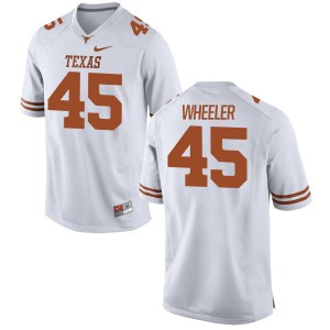 Anthony Wheeler Nike Texas Longhorns Men's Game Football Jersey  -  White