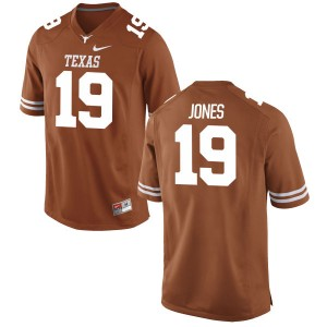 Brandon Jones Nike Texas Longhorns Men's Replica Football Jersey - Tex - Orange