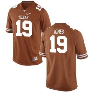Brandon Jones Nike Texas Longhorns Men's Game Football Jersey - Tex - Orange