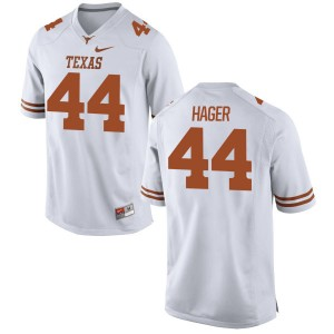 Breckyn Hager Nike Texas Longhorns Men's Replica Football Jersey  -  White