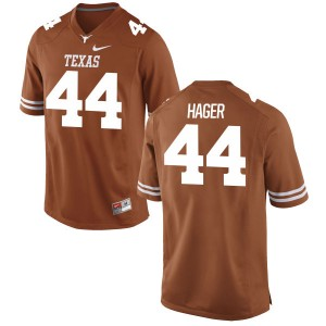 Breckyn Hager Nike Texas Longhorns Men's Game Football Jersey - Tex - Orange