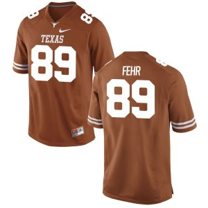 Chris Fehr Nike Texas Longhorns Youth Game Football Jersey - Tex - Orange