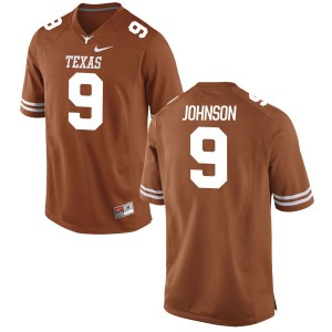 Collin Johnson Nike Texas Longhorns Youth Replica Football Jersey - Tex - Orange