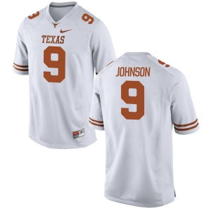 Collin Johnson Nike Texas Longhorns Youth Replica Football Jersey  -  White
