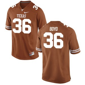 Demarco Boyd Nike Texas Longhorns Men's Game Football Jersey - Tex - Orange