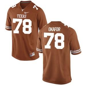 Denzel Okafor Nike Texas Longhorns Women's Game Football Jersey - Tex - Orange