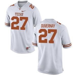 Donovan Duvernay Nike Texas Longhorns Men's Replica Football Jersey  -  White