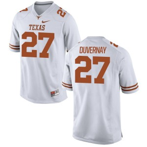Donovan Duvernay Nike Texas Longhorns Men's Game Football Jersey  -  White