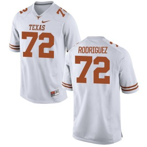 Elijah Rodriguez Nike Texas Longhorns Men's Replica Football Jersey  -  White