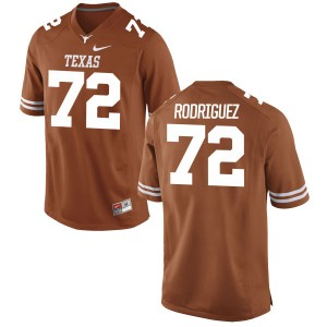 Elijah Rodriguez Nike Texas Longhorns Youth Replica Football Jersey - Tex - Orange