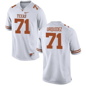 J.P. Urquidez Nike Texas Longhorns Men's Game Football Jersey  -  White