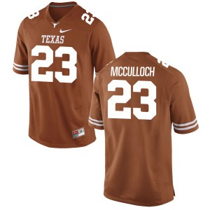 Jeffrey McCulloch Nike Texas Longhorns Men's Replica Football Jersey - Tex - Orange
