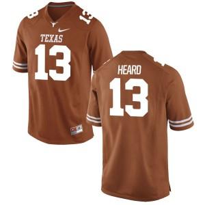 Jerrod Heard Nike Texas Longhorns Men's Game Football Jersey - Tex - Orange