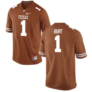 John Burt Nike Texas Longhorns Men's Replica Football Jersey - Tex - Orange