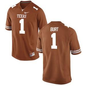 John Burt Nike Texas Longhorns Men's Game Football Jersey - Tex - Orange
