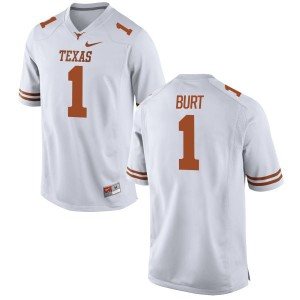 John Burt Nike Texas Longhorns Men's Limited Football Jersey  -  White