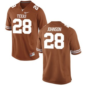Kirk Johnson Nike Texas Longhorns Men's Game Football Jersey - Tex - Orange