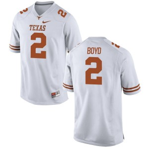 Kris Boyd Nike Texas Longhorns Men's Replica Football Jersey  -  White