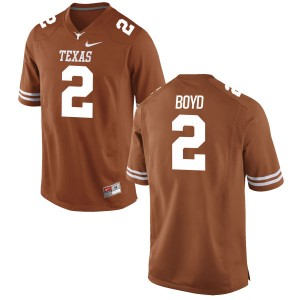 Kris Boyd Nike Texas Longhorns Youth Game Football Jersey - Tex - Orange