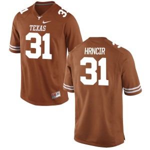 Kyle Hrncir Nike Texas Longhorns Men's Replica Football Jersey - Tex - Orange
