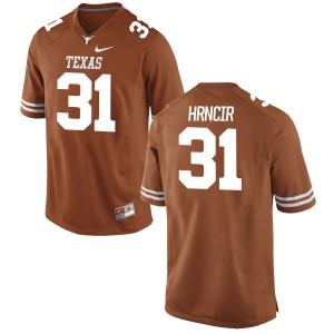 Kyle Hrncir Nike Texas Longhorns Youth Replica Football Jersey - Tex - Orange