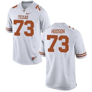 Patrick Hudson Nike Texas Longhorns Men's Game Football Jersey  -  White