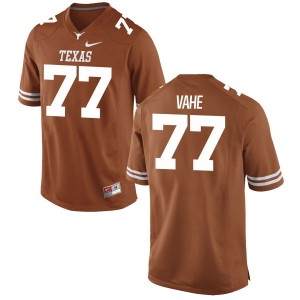 Patrick Vahe Nike Texas Longhorns Men's Game Football Jersey - Tex - Orange