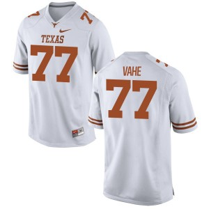Patrick Vahe Nike Texas Longhorns Men's Game Football Jersey  -  White