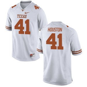 Tristian Houston Nike Texas Longhorns Men's Authentic Football Jersey  -  White