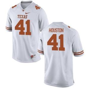 Tristian Houston Nike Texas Longhorns Men's Game Football Jersey  -  White